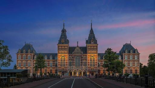 Rijksmuseum in Amsteram, Netherlands