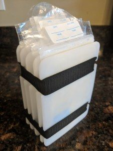 MAMMAway Freeze It Flat breast milk bag organizer
