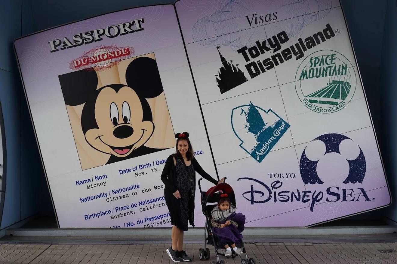 Family in Disney