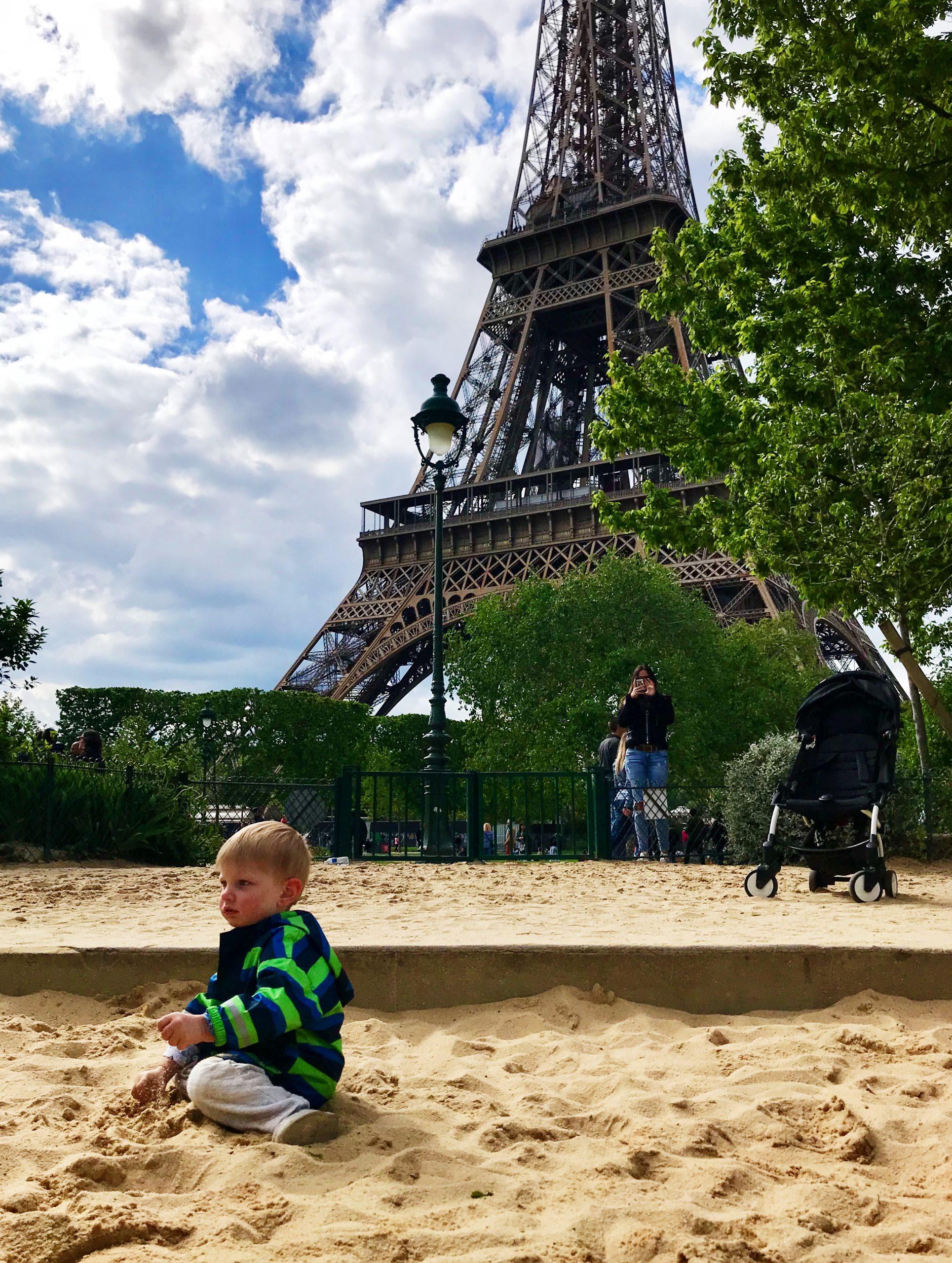 Toddlers in Paris
