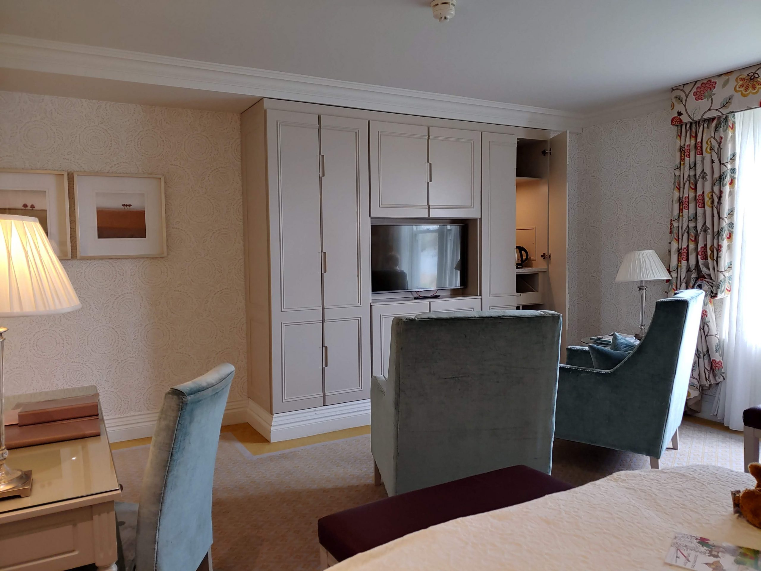The suite of the castle hotel