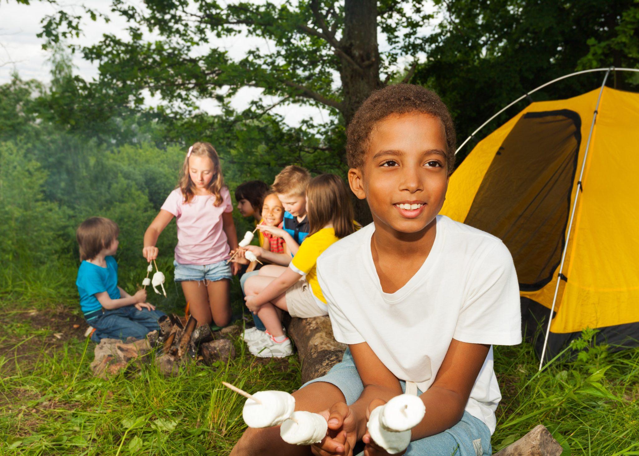 camping at home!