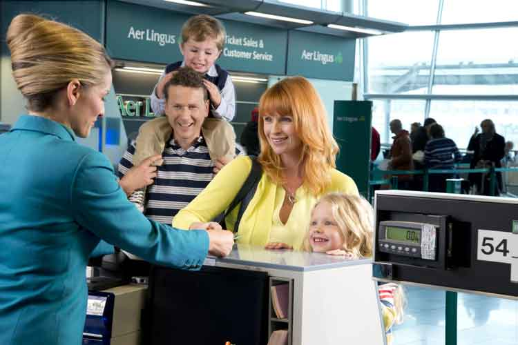 Aer Lingus is a great airline to travel to Ireland with kids on.