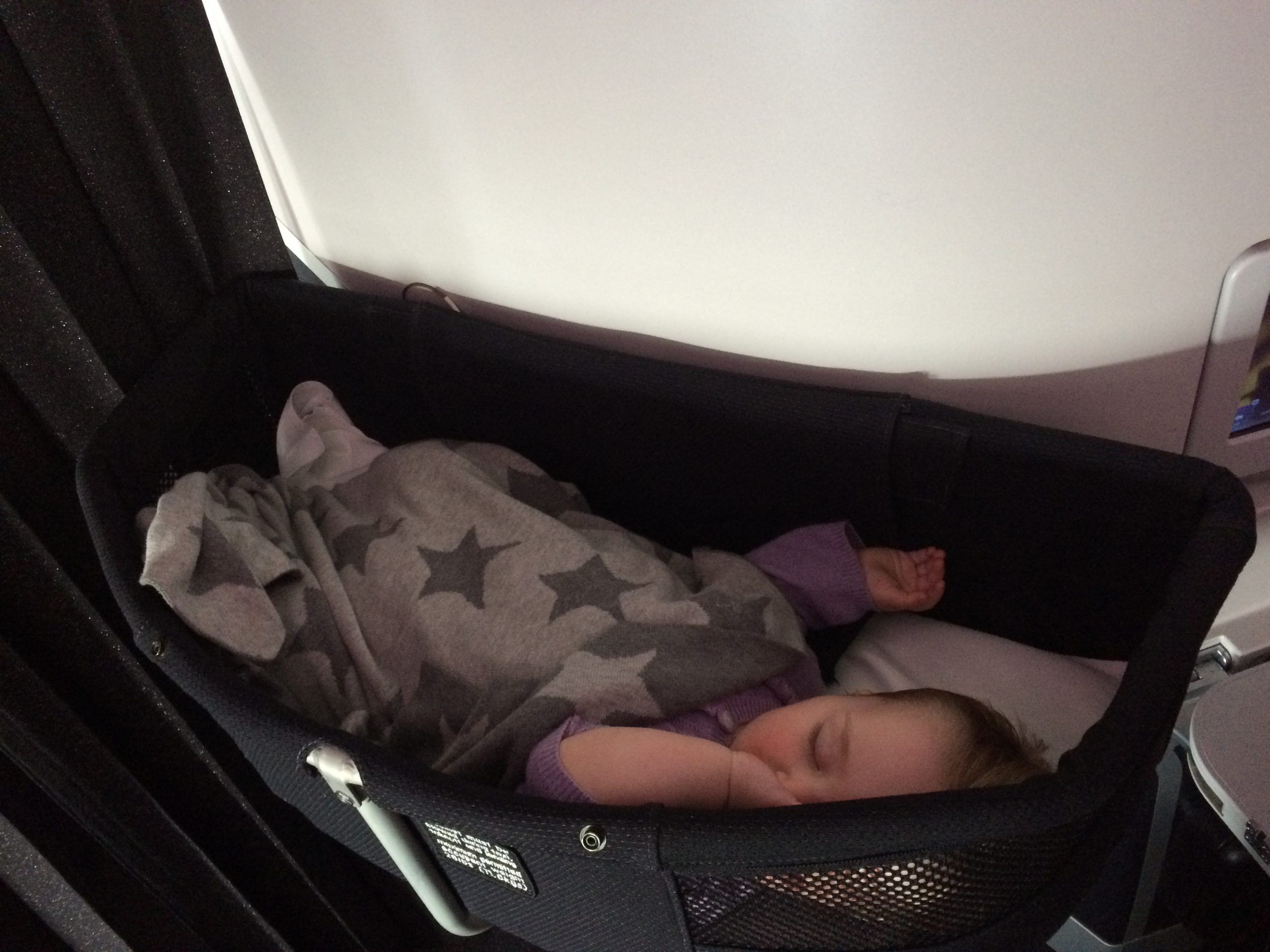 Air New Zealand Bassinet