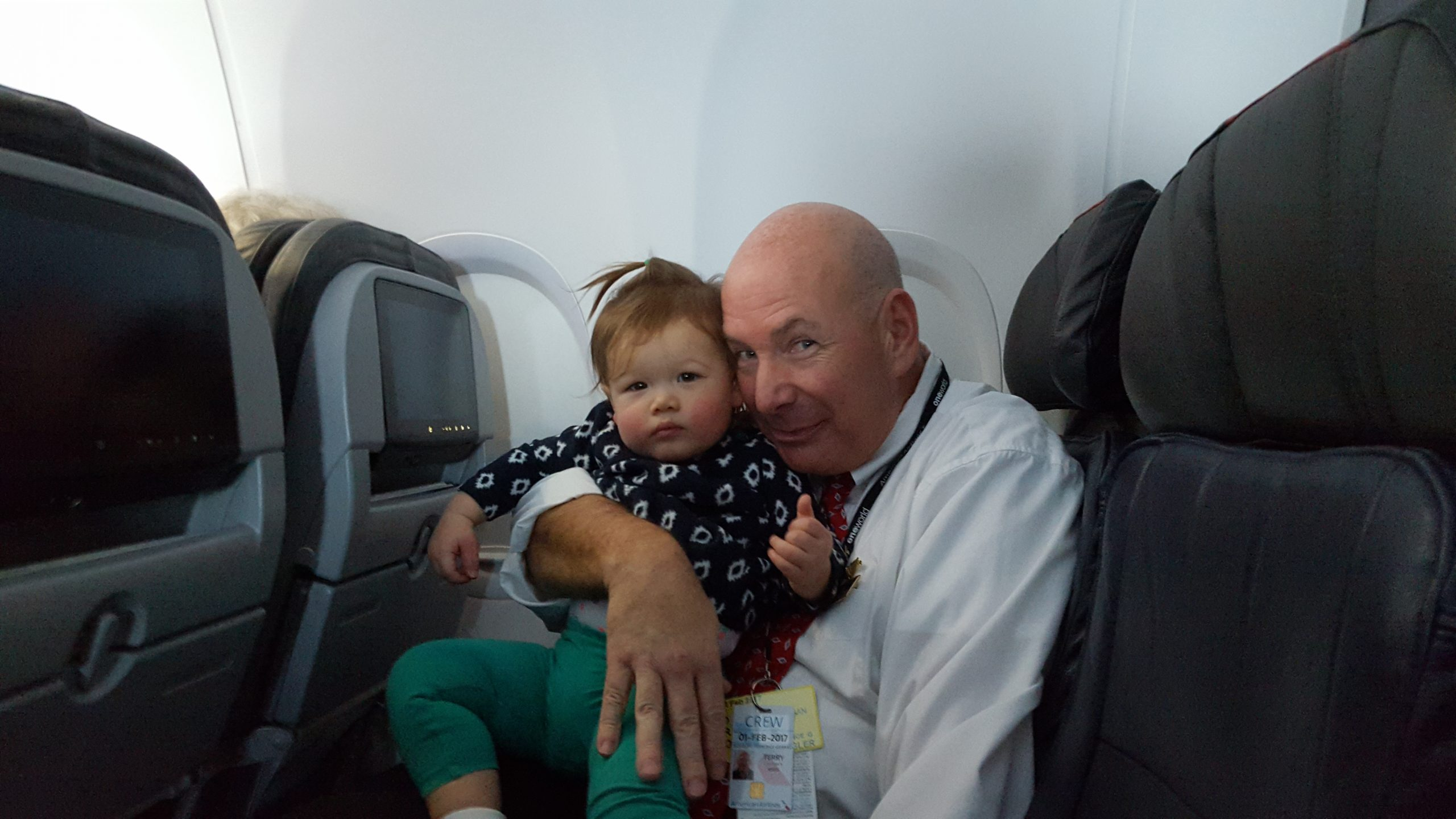 American Airline Flight Attendant