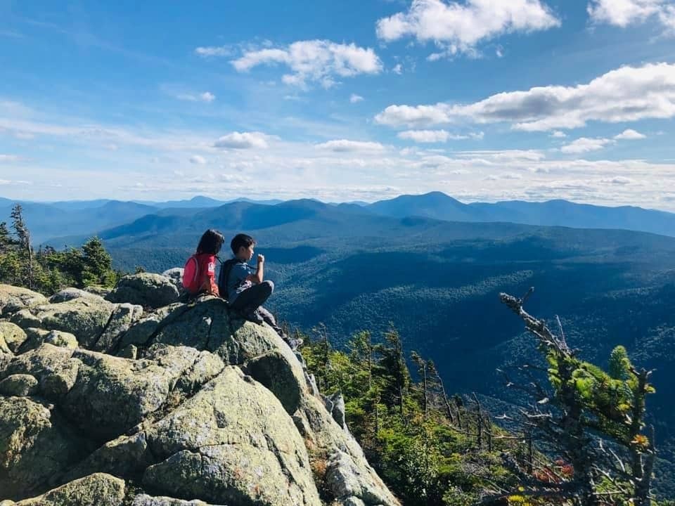 Ray Yang family hike White Mountains