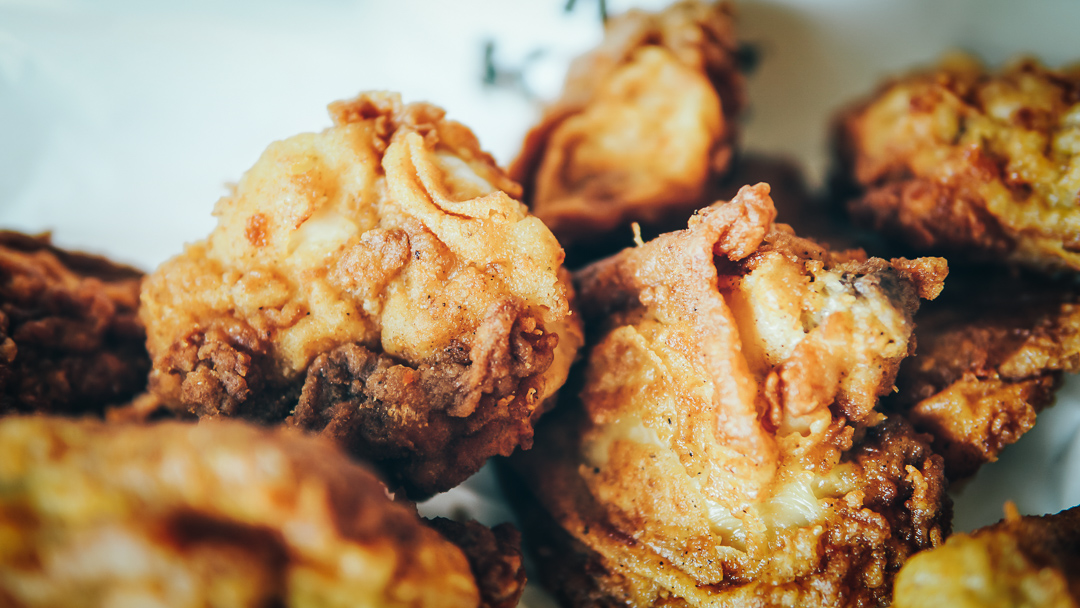 A delicious prawn paste chicken recipe from Singapore!