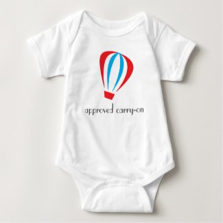 Approved Carry-On Baby Bodysuit