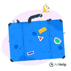 AirHelp Luggage icon for family air passenger rights
