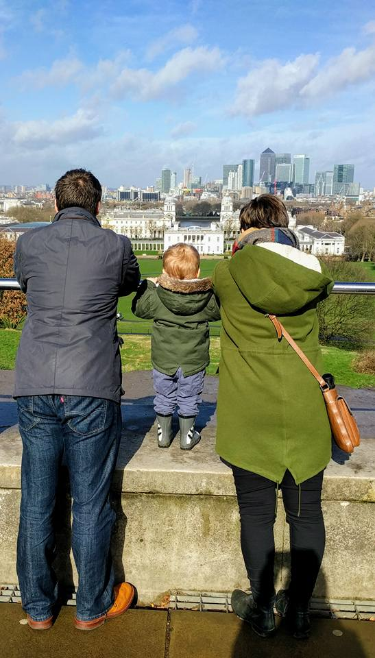 Greenwich with baby