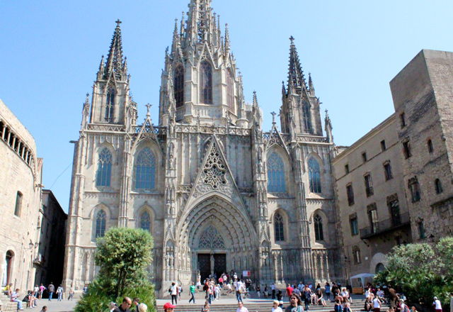 Cathedral of Barcelona in Spain from https://catedralbcn.org