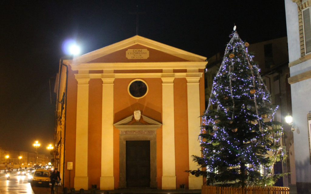 christmas in pisa