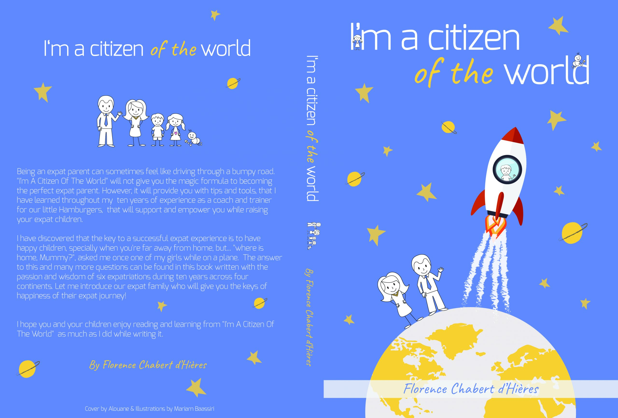 I'm A Citizen of the World cover in English
