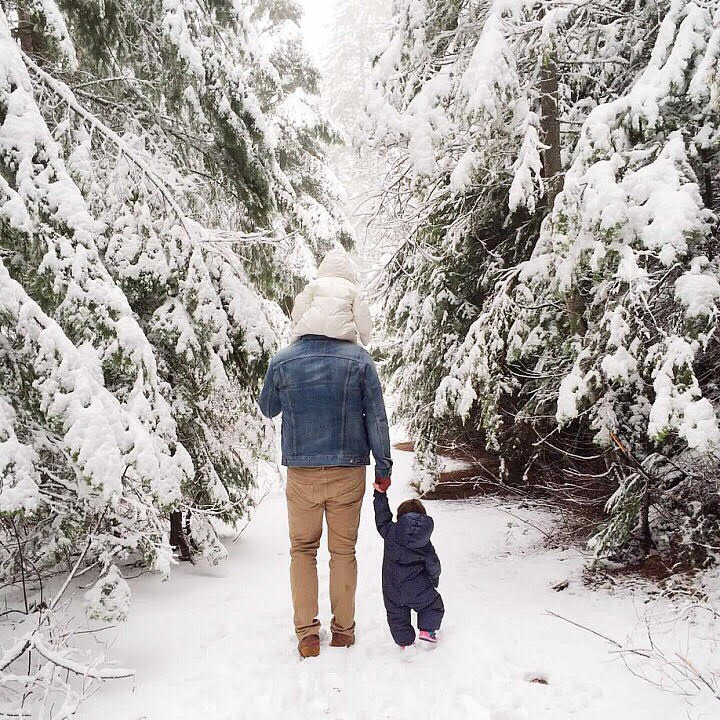 travel with toddler cold weather tips