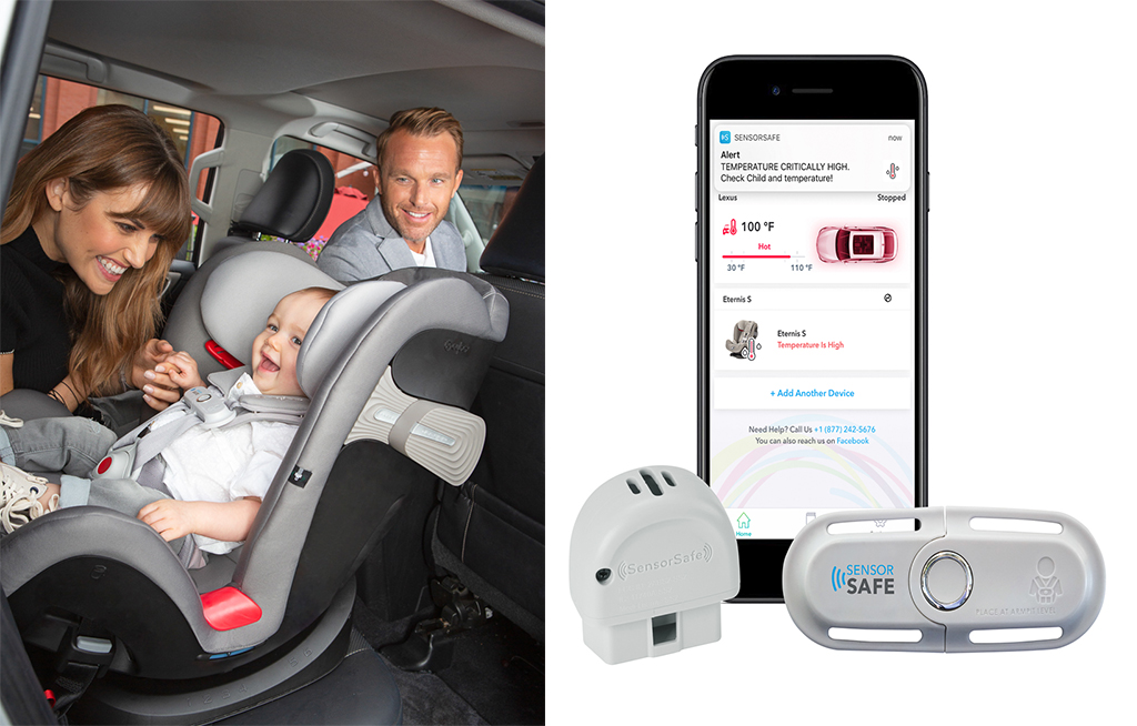 SENSORSAFE by Cybex is a great product when wanting a safe road trip this summer