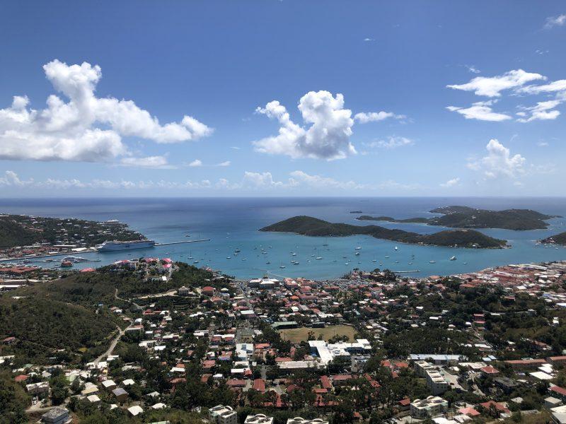 View of Magens Bay US Virgin Islands