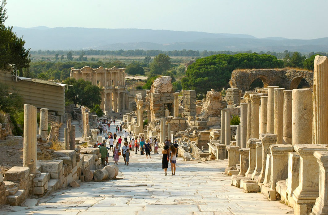 Ephesus with kids