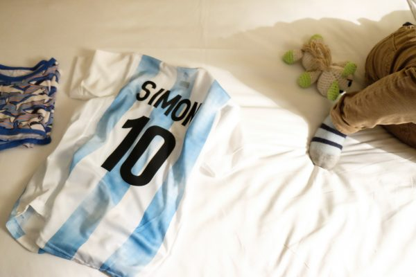 Personalized argentine soccer jersey