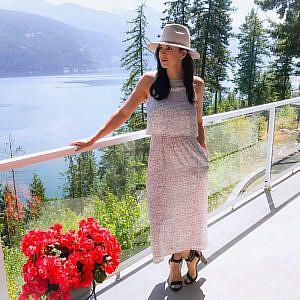 Moda Mia Gaia Dress in Camo