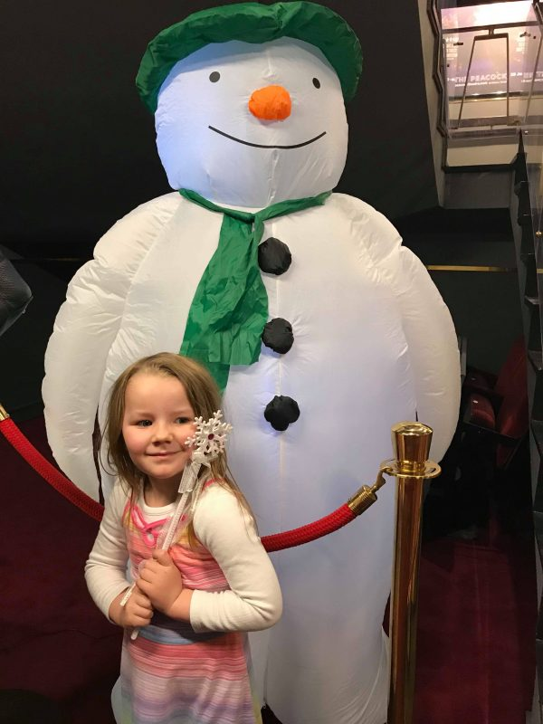 the snowman at peacock theatre in london