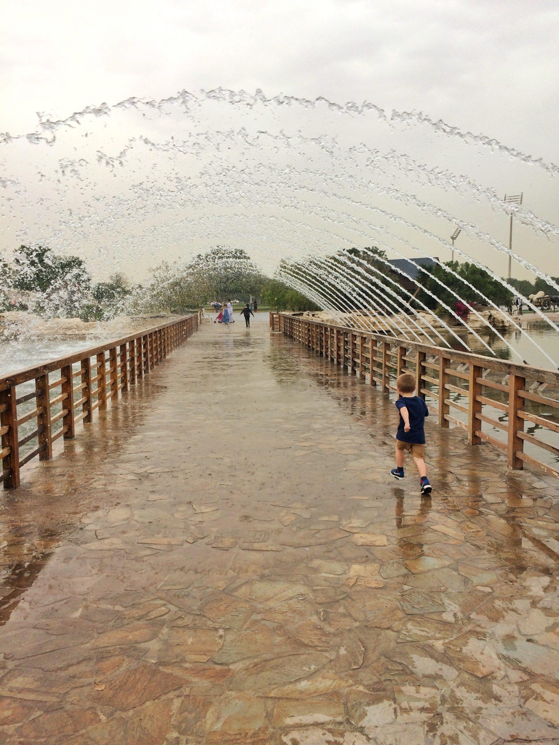 Aspire Park Doha Water Fountain
