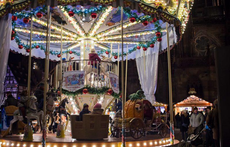 carousel in strasbourg christmas