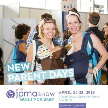 moms at JPMA built for baby show