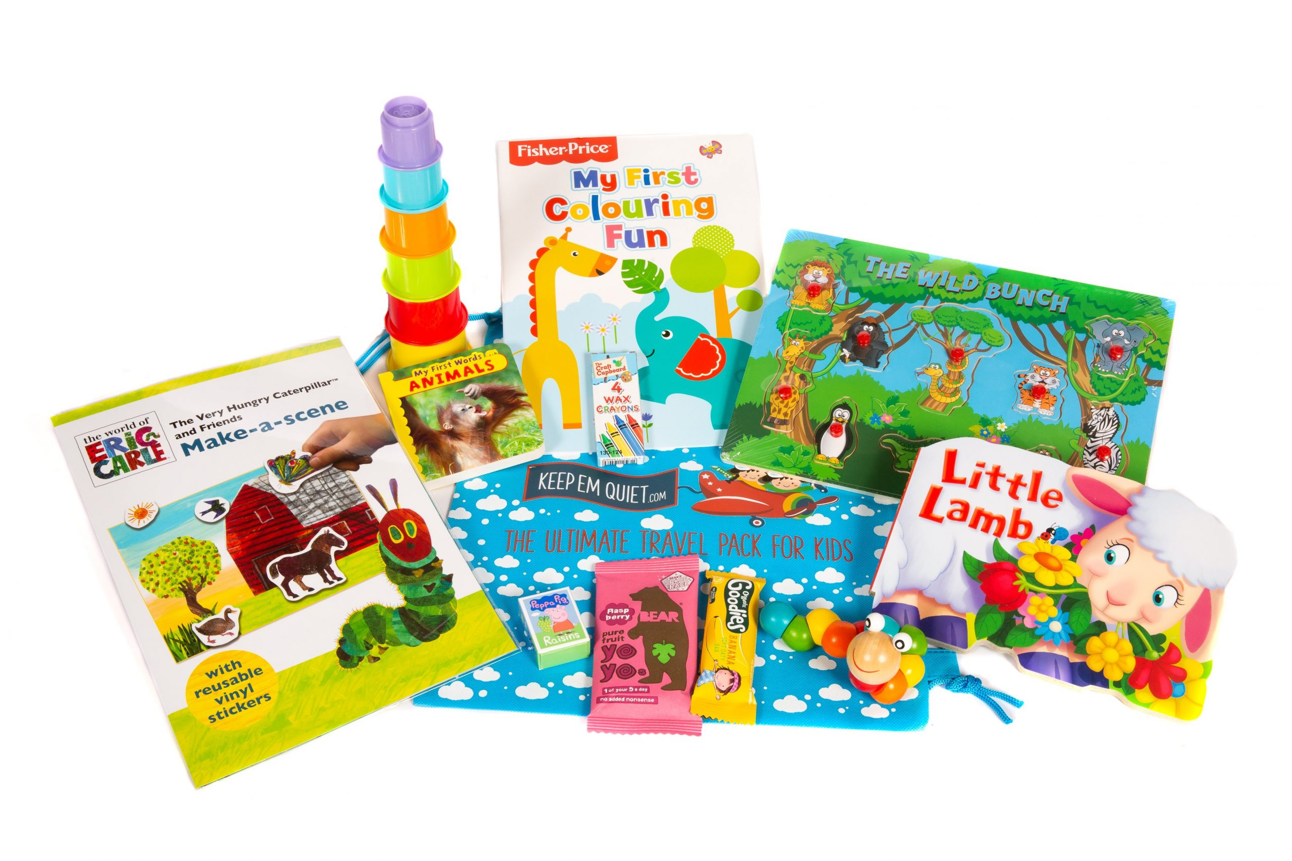 Keep em quiet child travel entertainment kit