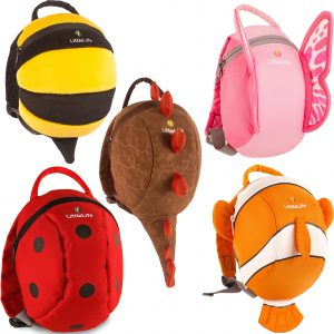 we love the cute designs of these toddler backpacks!