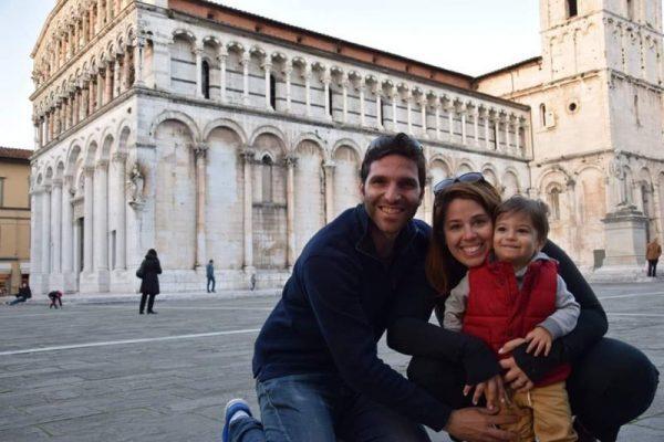Duomo di San Martino with a baby