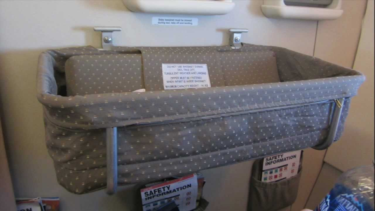 Image result for baby bassinet airplane