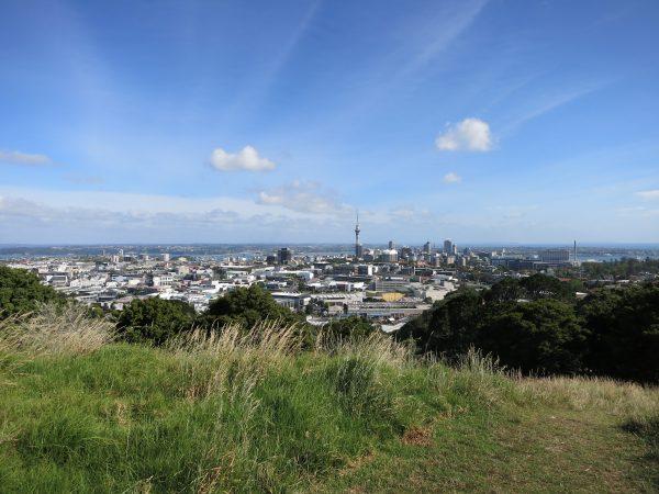 Overlooking Auckland from Mount Eden