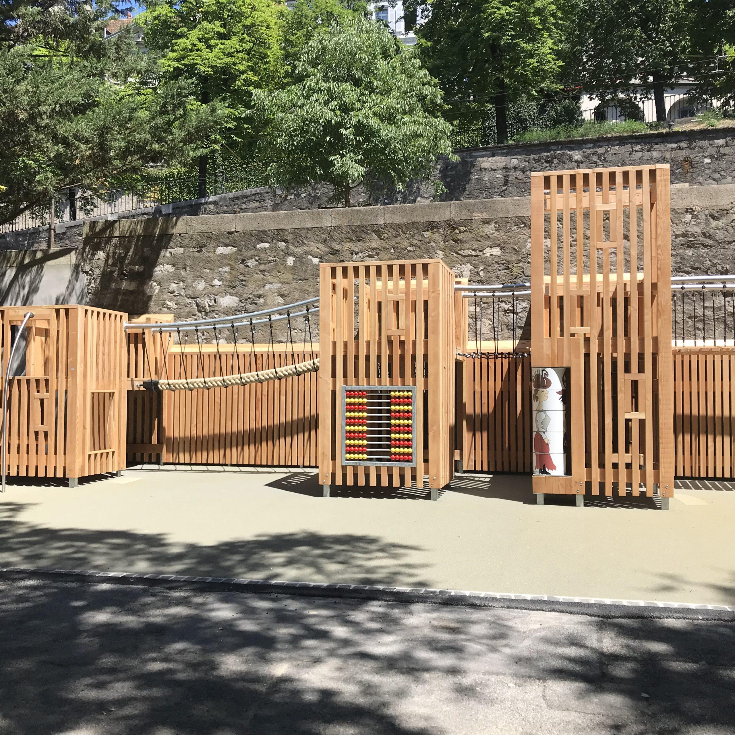 parc des bastions geneve