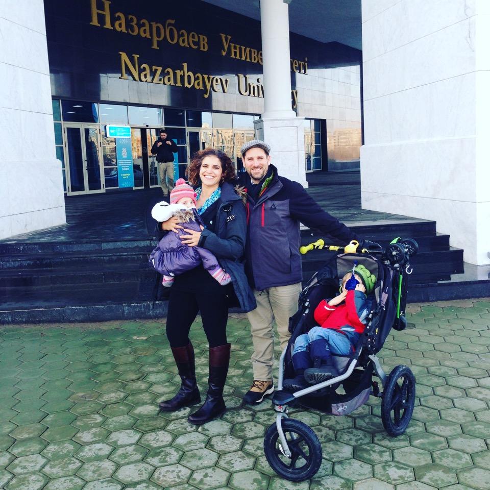 family in astana kazakstan