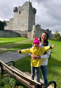 Ross Castle Ireland with kids