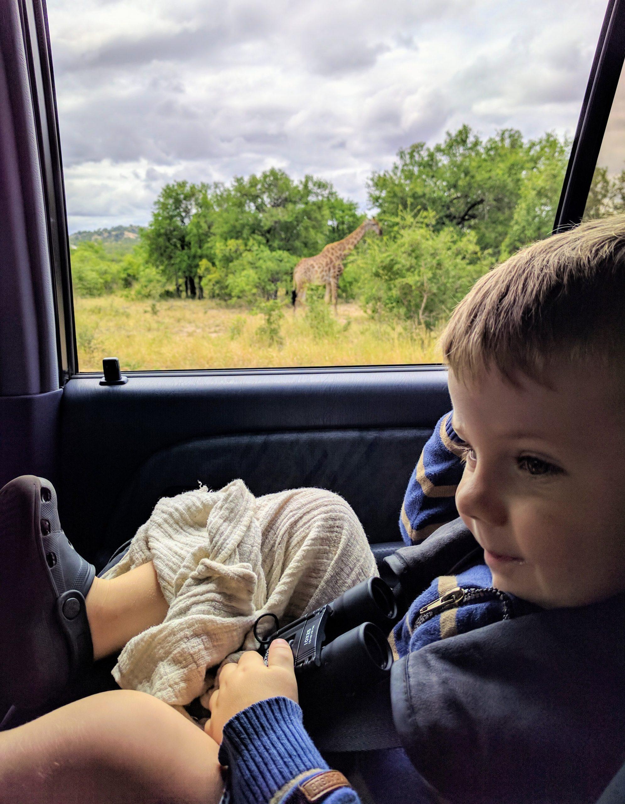 seringa lodge safari with baby