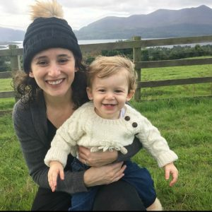 toddler in Ireland with his mum Killarney