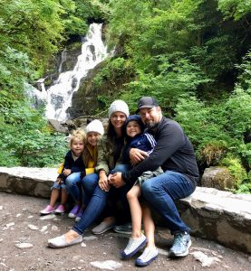 Killarney National Park Ireland with toddlers
