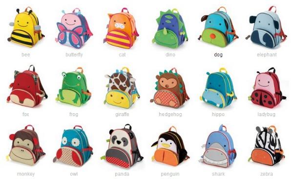 cute options for Skip Hop toddler backpacks