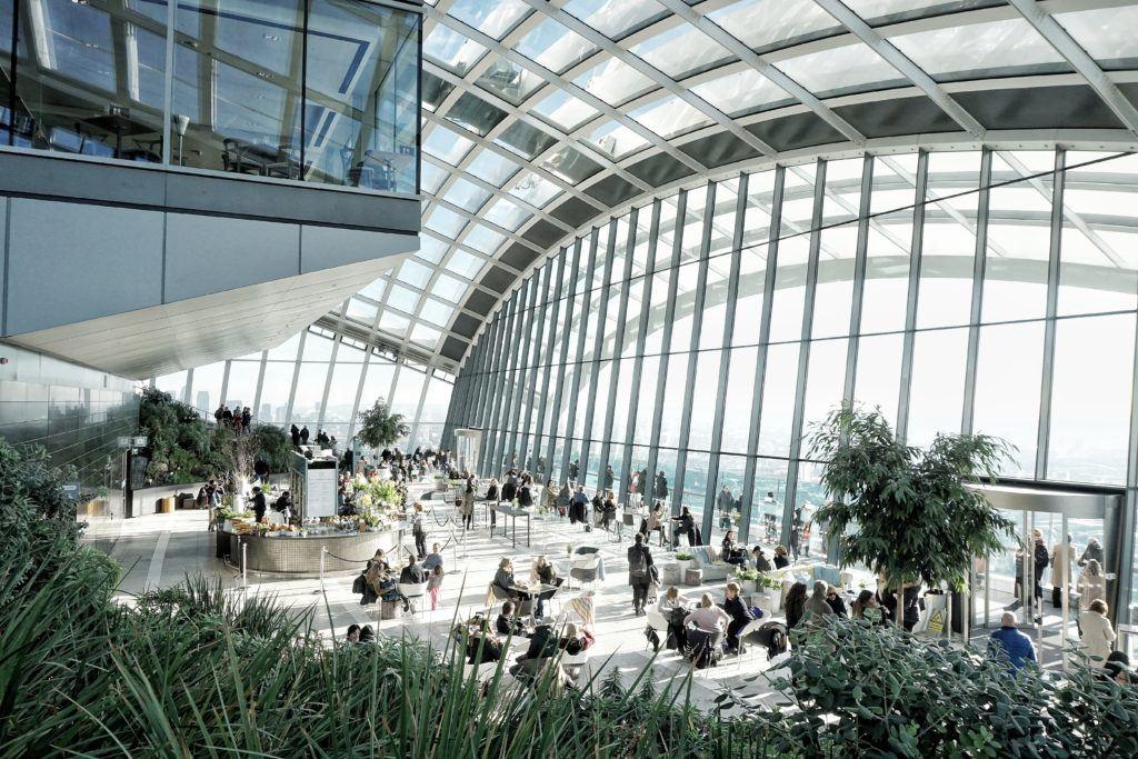 The Sky Garden in London
