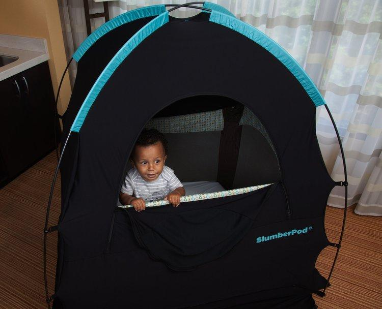 SlumberPod Privacy Pod over pack n play