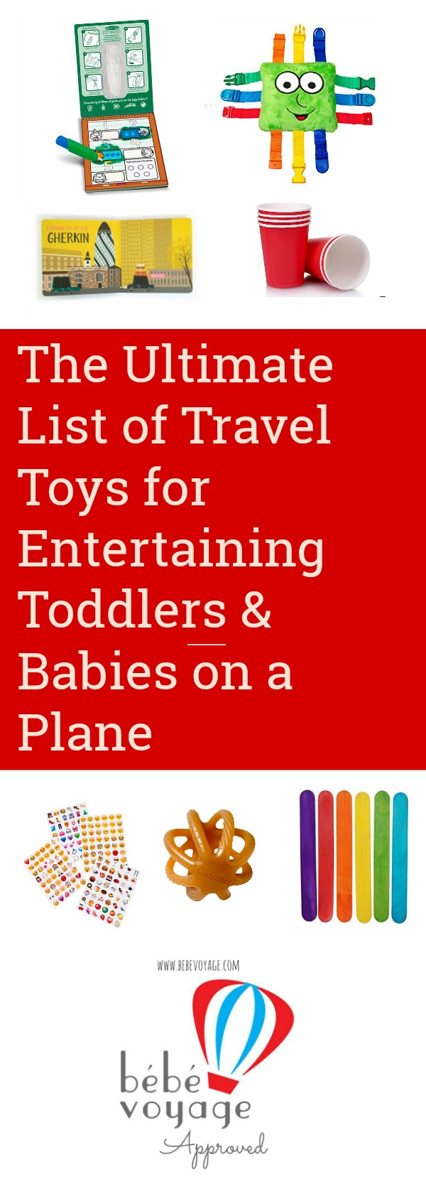 ultimate list of travel toys for toddlers