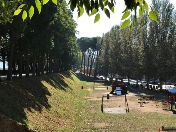 Playground in Lucca