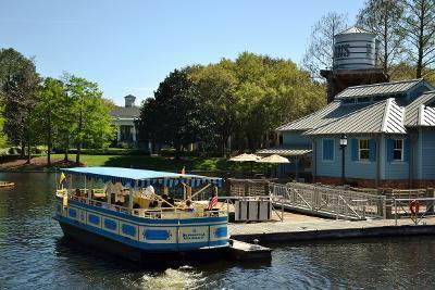 Boat dock at Riverside Resort. Part of WDW Transportation