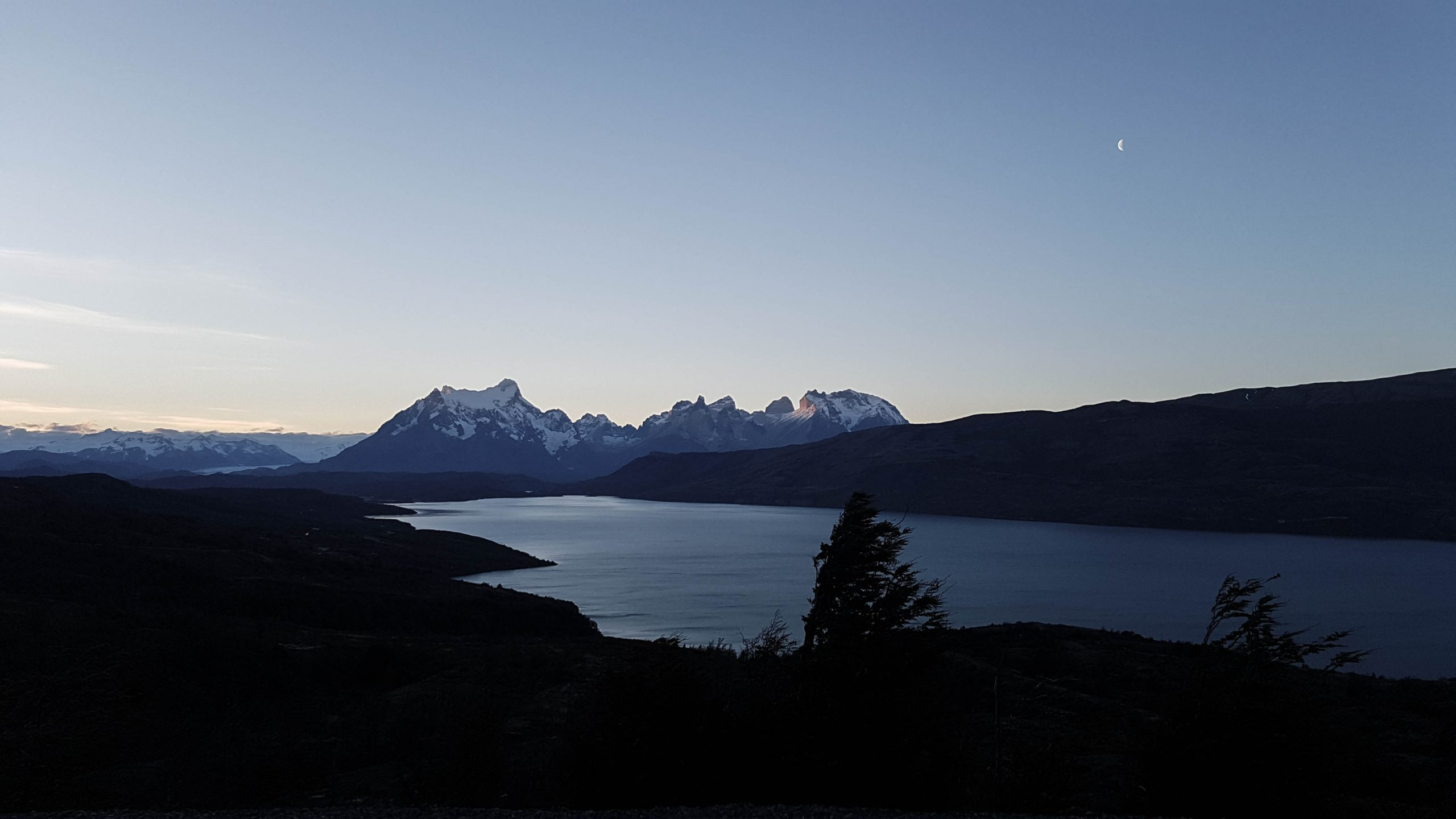 Sunset at Los Torres del Paine