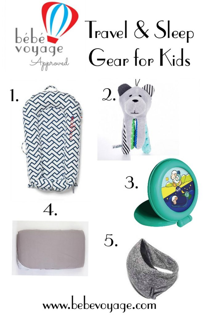 Travel and sleep gear suggestions for kids