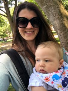 using a Cybex baby carrier while traveling