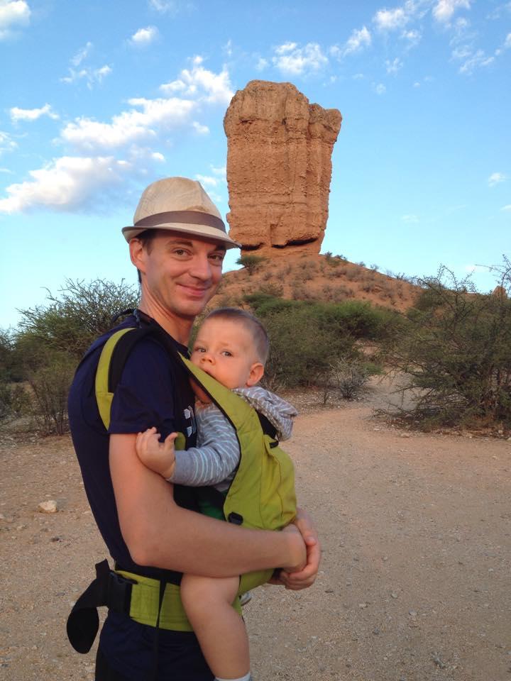 Safari with a baby - Vingerklip
