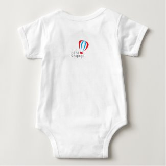 Approved Carry-On Baby Bodysuit back