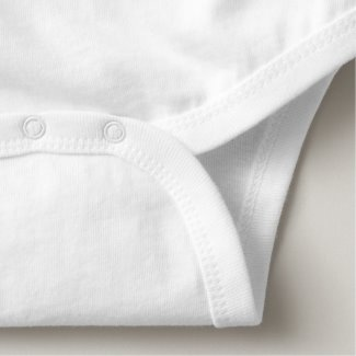 Approved Carry-On Baby Bodysuit bottom detail